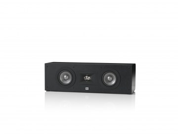 JBL Studio 225C Black without Grille - Front View
